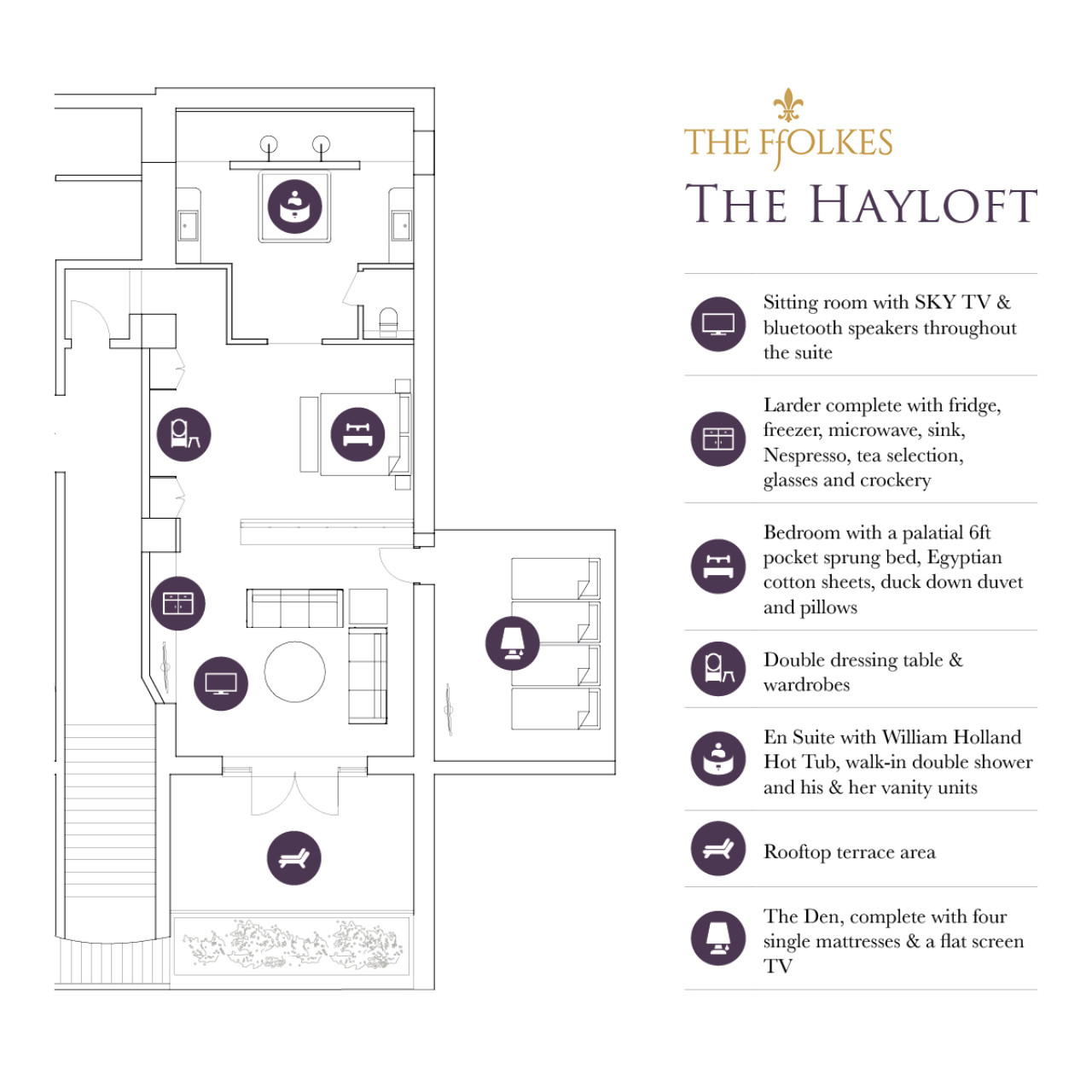 Wr Wr The Ffolkes The Hayloft Floorplan Social Square
